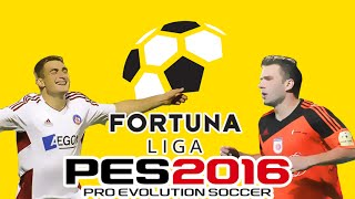 getlinkyoutube.com-Fortuna Liga Patch 2016 - Pro Evolution Soccer 2016