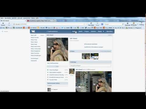 VKontakte: Design und Funktionen 2013