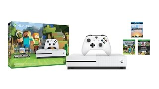getlinkyoutube.com-5 Reasons Minecraft is GREAT on Xbox One S | Minecraft Favourites Bundle 4K