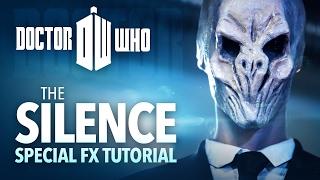 getlinkyoutube.com-The Silence sfx makeup tutorial (Doctor Who cosplay)