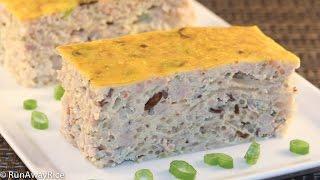 getlinkyoutube.com-Easy-Bake Egg Meatloaf (Cha Trung)