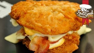 getlinkyoutube.com-Double Down KFC, la recette   FastGoodCuisine