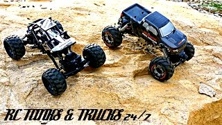 MINI ROCK CRAWLER Showdown - Basher RockSta VS HBX Devastator - Which One Is Best?