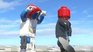 getlinkyoutube.com-LEGO MYSTIQUE VS RED SKULL (Battle) - LEGO Marvel Super heroes