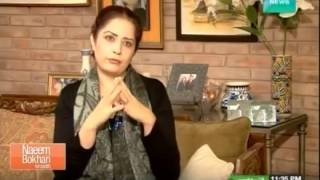 Atiqa-odho-interview-Naeem-Bukhari-Kay-Sath-28th-December-2014-Dawn-News width=