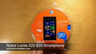 getlinkyoutube.com-Nokia Lumia 520 $20 Smartphone