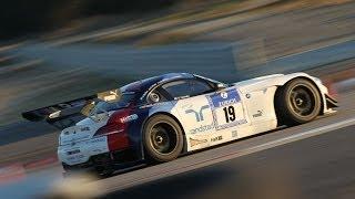 getlinkyoutube.com-BMW Z4 GT3 FIA GT Race car - Test by DRIVE Magazine (Eng subs)