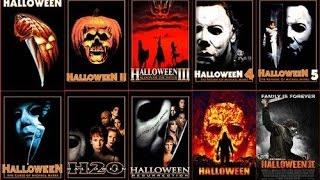 getlinkyoutube.com-Halloween 1,2,3,4,5,6,7,8,9,10 Trailers 2016