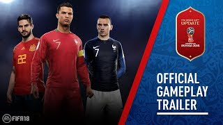 FIFA 18 - World Cup Gameplay Trailer