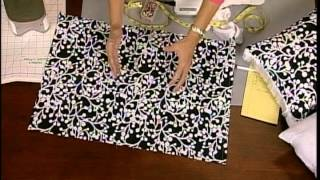 getlinkyoutube.com-How to sew decorative pillow covers in just a few minutes.