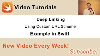 Deep Linking Using Custom URL Scheme Example in Swift