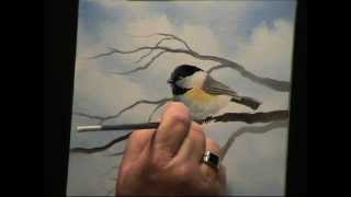 getlinkyoutube.com-Wilson Bickford Chickadee Painting Techniques - Intermediate/Advanced