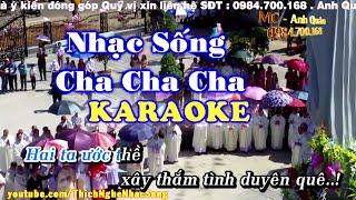 getlinkyoutube.com-[KARAOKE Nhạc Sống] Liên Khúc Nhạc Sống Cha Cha Cha Cực Hay - Nhạc Sống Thôn Quê Karaoke