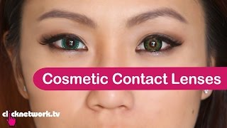 getlinkyoutube.com-Cosmetic Contact Lenses - Tried and Tested: EP45
