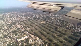 getlinkyoutube.com-Qantas - Approach and landing at JFK