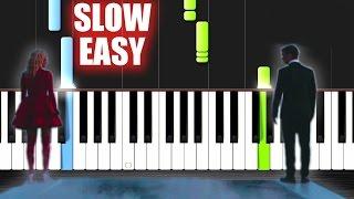 getlinkyoutube.com-Martin Garrix & Bebe Rexha - In The Name Of Love - SLOW EASY Piano Tutorial by PlutaX