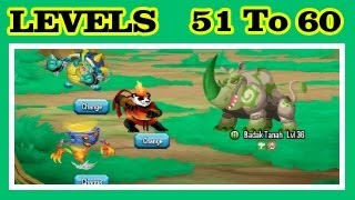 Monster Legends Adventure Map Levels 51 To 60