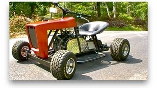 getlinkyoutube.com-Racing Mower/Go Kart is FINISHED!