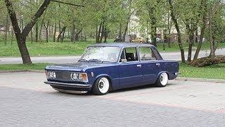 getlinkyoutube.com-Polski Fiat 125p Air Ride -- FSO 125p Berlina Cultstyle