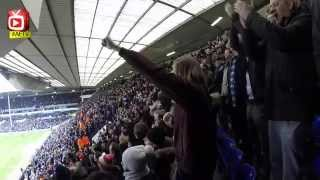 """Arsenal fans singing at White Hart Lane incl. the funny """"One of Our Own"""" Chant"""