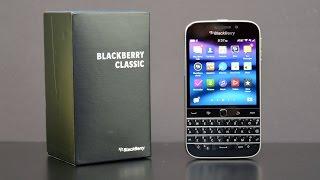 مراجعة هاتف بلاك بيري كلاسك   BlackBerry Classc