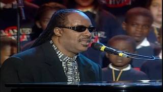 getlinkyoutube.com-Stevie Wonder, Luciano Pavarotti & All Stars - Peace Wanted Just To Be Free (LIVE) HD