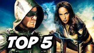 getlinkyoutube.com-Arrow Season 4 Episode 15 Vixen - TOP 5 WTF and Easter Eggs