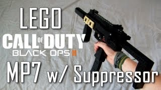 getlinkyoutube.com-Call Of Duty: Black Ops 2: LEGO MP7 | Suppressor