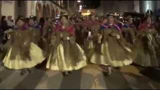 Morenada Orkapata 2014 - Entrada a las vísperas 2