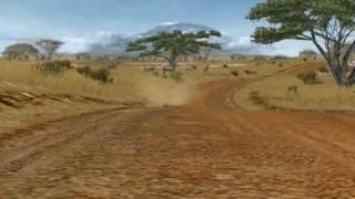 getlinkyoutube.com-rFactor - Africa Rally Stage 1