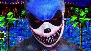 getlinkyoutube.com-Sonic.exe - Creepy Pasta - Makeup Tutorial!