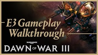 Warhammer 40000: Dawn of War III - Space Marine Játékmenet