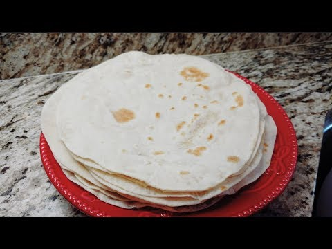 Tortillas de harina tutorial parte #1