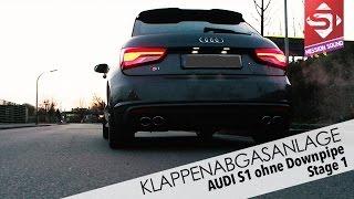 getlinkyoutube.com-Audi S1 - Klappenabgasanlage by Sidney Industries