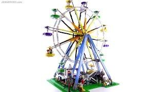 getlinkyoutube.com-LEGO Creator 2015 Ferris Wheel review! set 10247