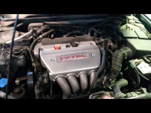 Honda Accord cl 7- cl 9. Замена ламп передних габаритов.