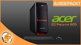 getlinkyoutube.com-Ausgepackt - Acer G3 Predator 605 [DE] SceneGamersDE