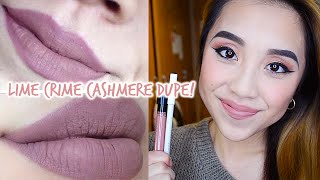 getlinkyoutube.com-Lime Crime Cashmere DUPE! | ONLY $6!!!