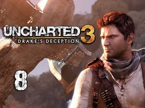 "Uncharted 3 Walkthrough - Part 8 ""John Dee's Lab"" (Let's Play, Playthrough)"