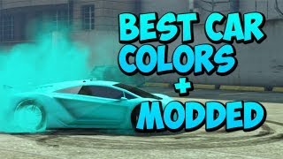 getlinkyoutube.com-GTA 5 Online : Best Car Colors Including Fluorescent blue,Clean Pink And Ultra Orange
