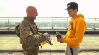 getlinkyoutube.com-'Mustang Wanted' Awarded Gun: Interior minister arms Ukrainian daredevil