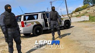 getlinkyoutube.com-LSPDFR - Day 85 - 2015 SWAT Suburban