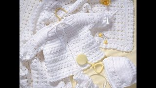 getlinkyoutube.com-Crochet Along (CAL) - Baby Layette Set  (Video 1) - Yolanda Soto Lopez
