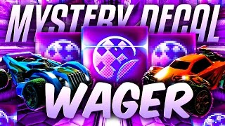 ROCKET LEAGUE MYSTERY DECAL WAGER MATCH