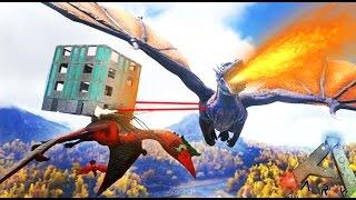 getlinkyoutube.com-BATALLA CONTRA EL REY DRAGÓN! - ARK survival Evolved #53 - Nexxuz