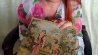 getlinkyoutube.com-Сумки вышитые бисером, старинные дизайнерские сумочки. Vintage handbag collection