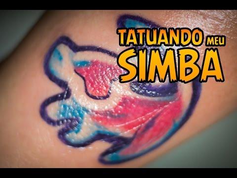 [Vlog] Tatuagem: Simba - O Rei Leão (com Vitor Mendes no Cartel Tattoos)