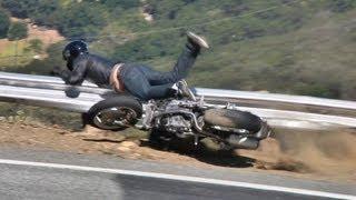 getlinkyoutube.com-Ducati Monster Motorcycle Crash - May 13, 2012