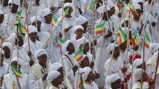 getlinkyoutube.com-Meskel celebration in Addis Ababa, Ethiopia (September 26, 2014)