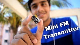 getlinkyoutube.com-Mini Spy FM Transmitter Bug - Spy Audio transmitter Device